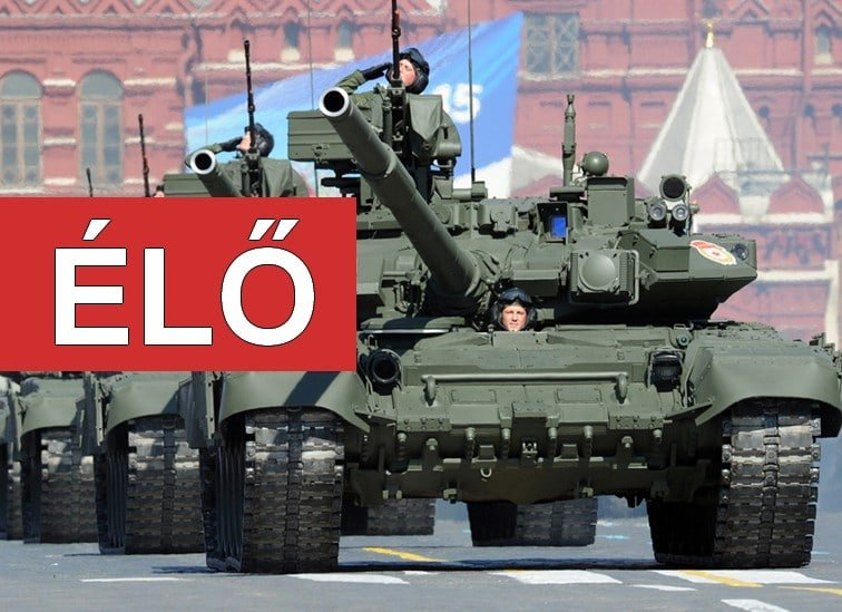 ÉLŐ: Győzelem Napja 2019 – katonai díszszemle Moszkvából