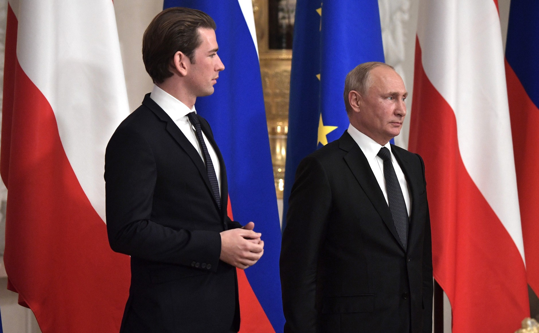 Putyin: Moszkva üdvözli, hogy Bécs támogatja a Északi Áramlat-2 megépítését