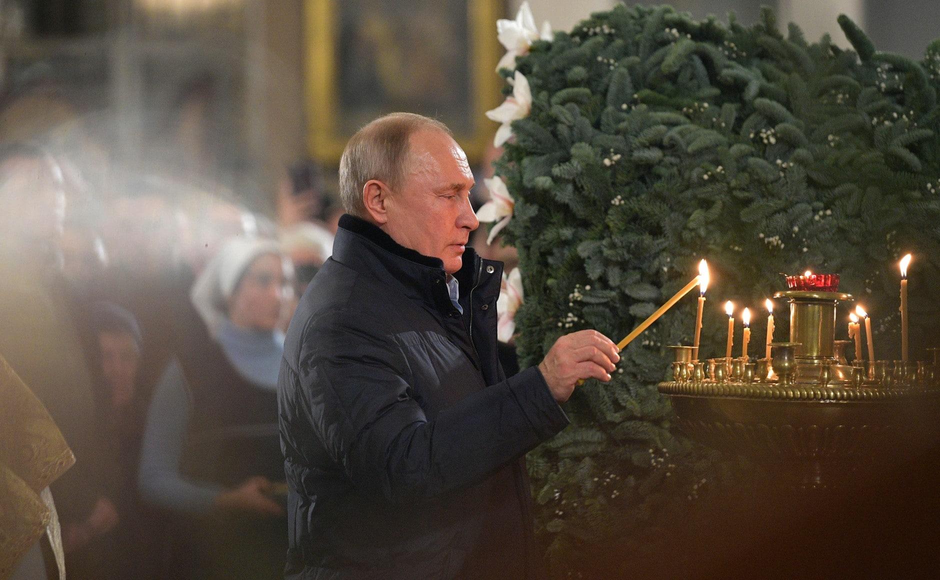Oroszországban 2,6 millióan vettek részt a karácsonyi liturgiákon
