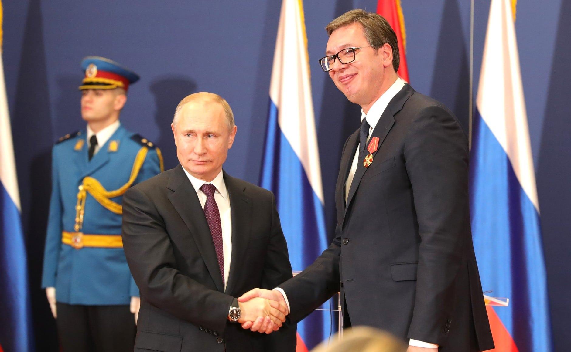 Putyin és Lavrov bocsánatot kért Vucictól az orosz külügyi szóvivő Facebook-posztja miatt
