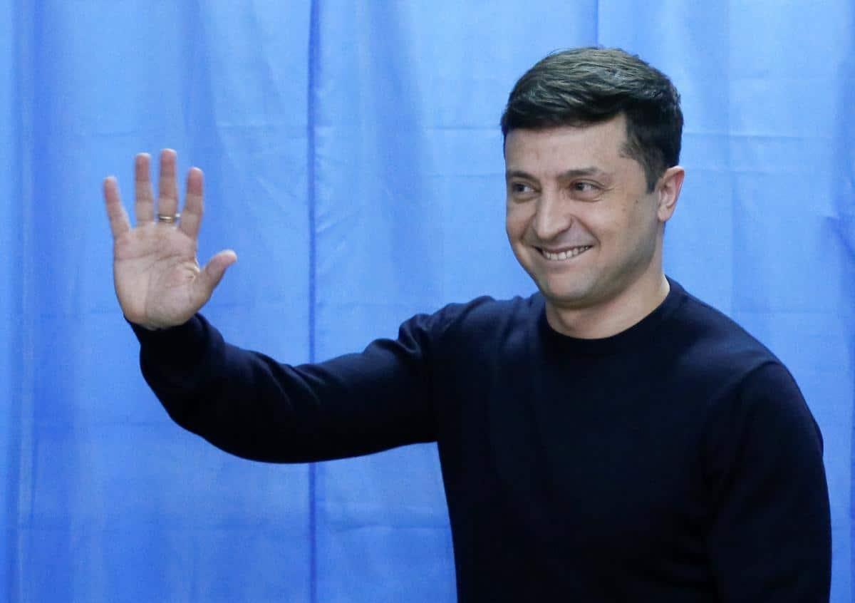 Exit poll: Zelenszkij 73.2%-al nyert