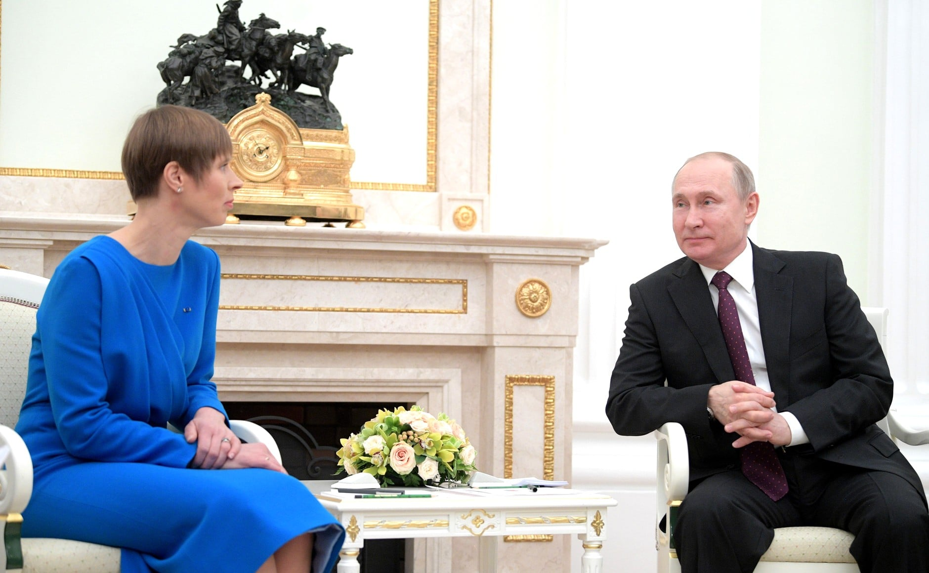 Putyin: nem normális helyzet, hogy eddig nem volt érdemi érintkezés Moszkva és Tallinn között