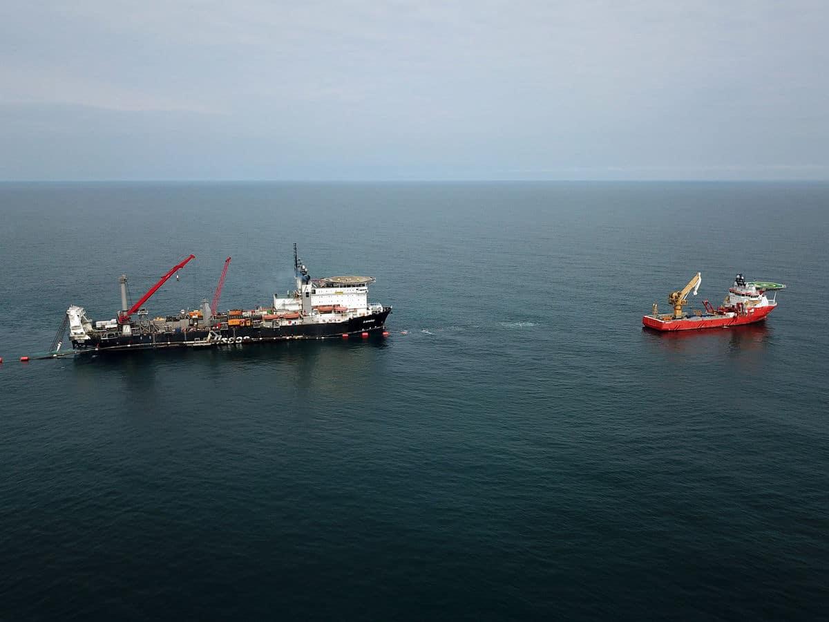 Gazprom: egymilliárd köbméter gáz haladt át a Török Áramlat vezetéken