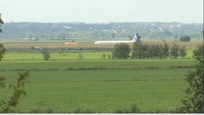 Madarak miatt kényszerleszállást hajtott végre egy utasszállító repülőgép Moszkvánál