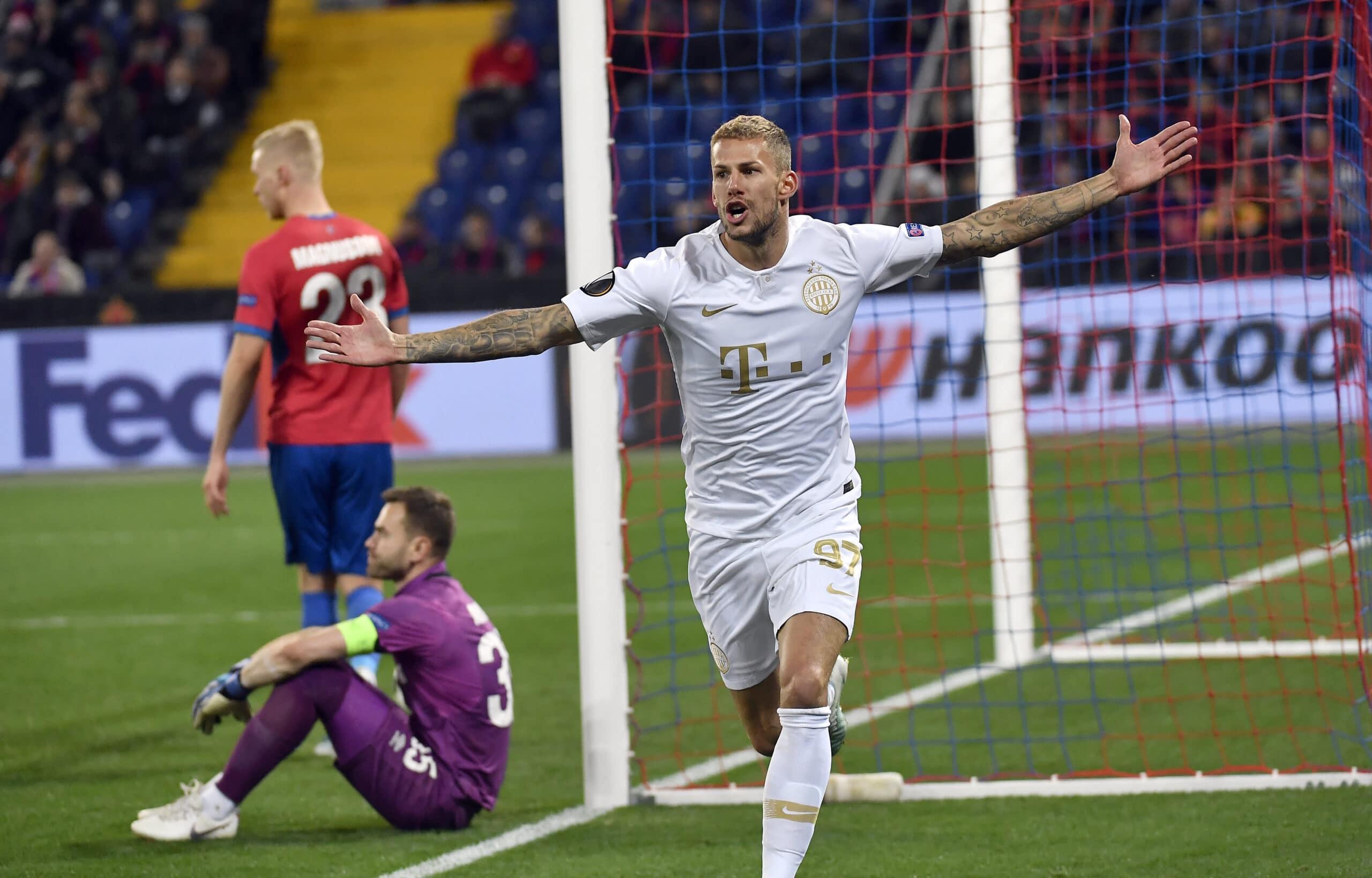 Európa-liga: Győzött Moszkvában a Ferencváros
