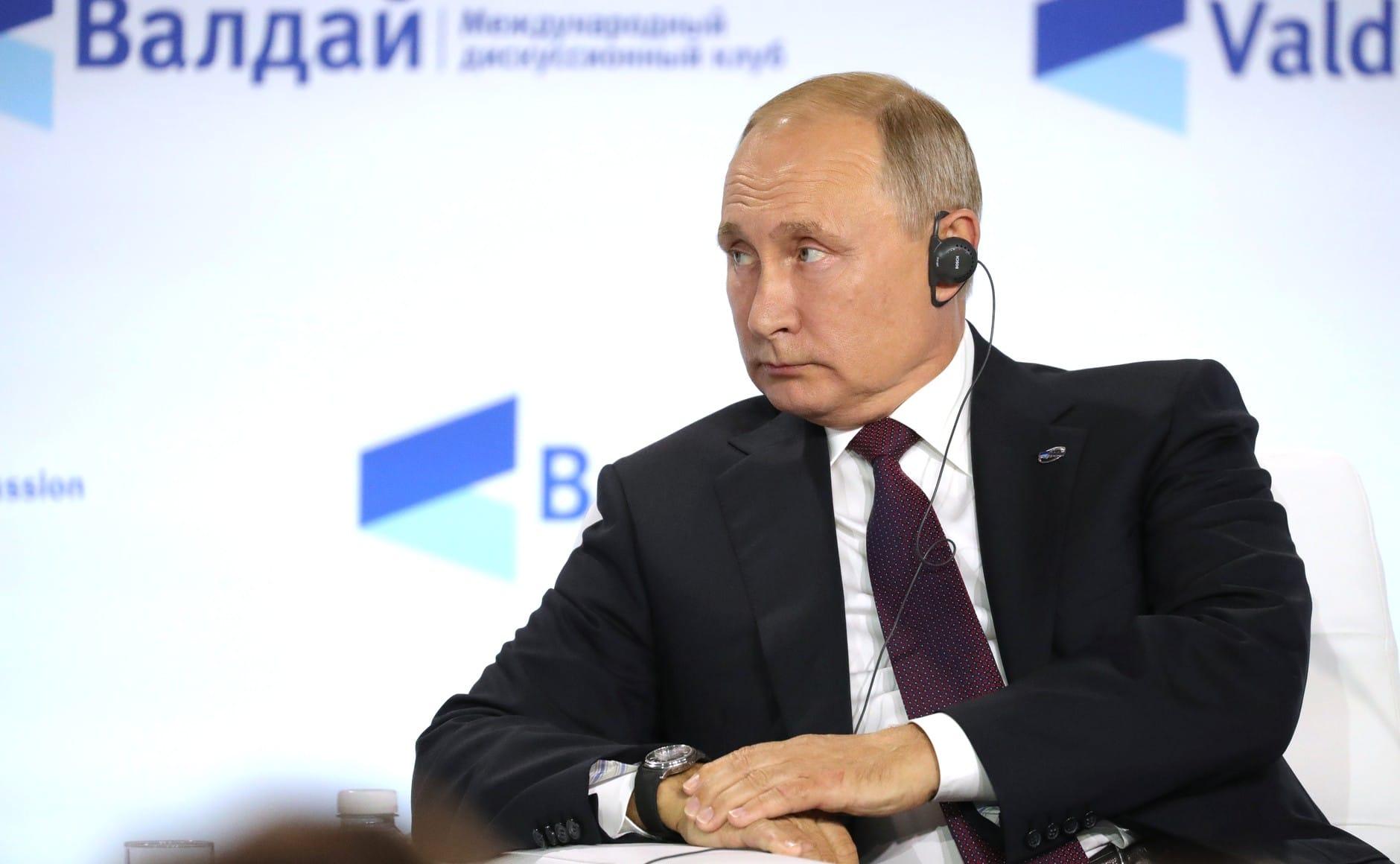 Putyin: Moszkva a fennálló világrend fennállásának egyik kezese
