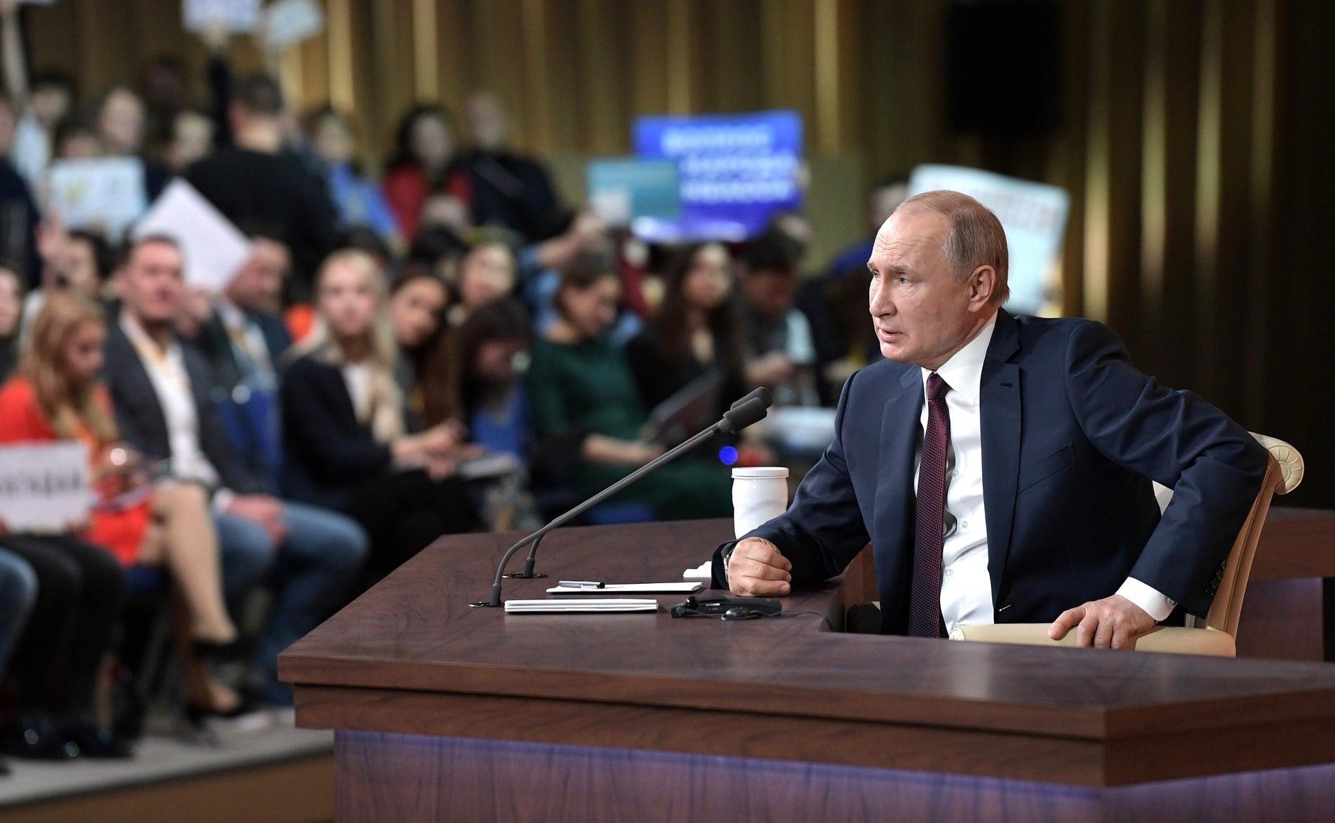 Putyin: ellentétes a józan ésszel, jogellenes és politikai színezetű a WADA határozata