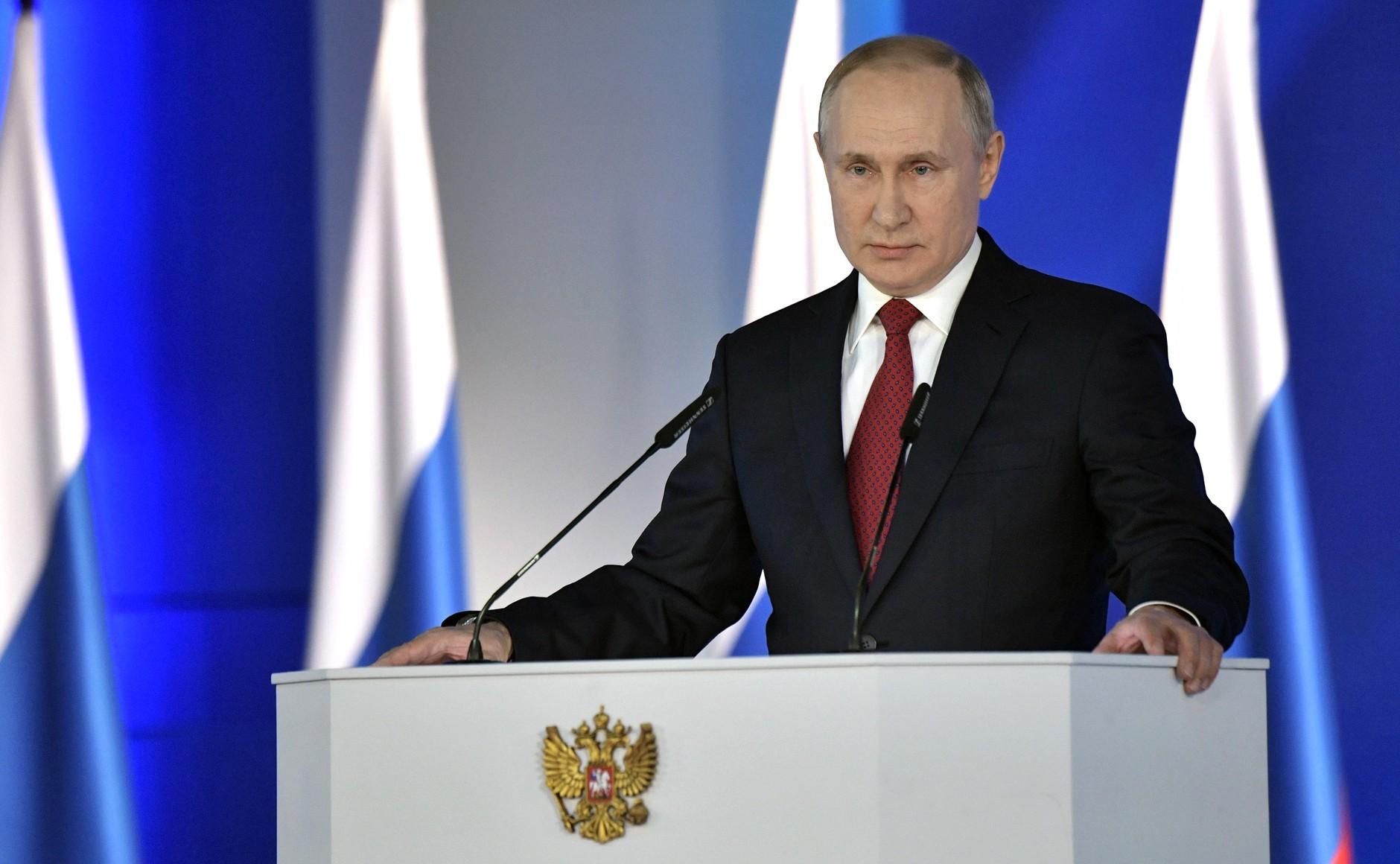 Putyin: Oroszország első ízben vezet a fegyverkezés terén