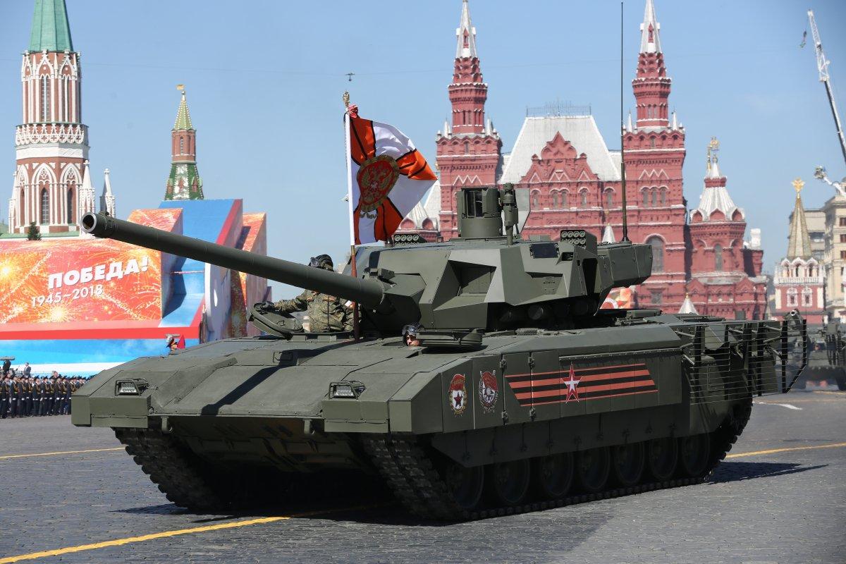 Az orosz hadsereg kipróbálta az Armata tankot Szíriában